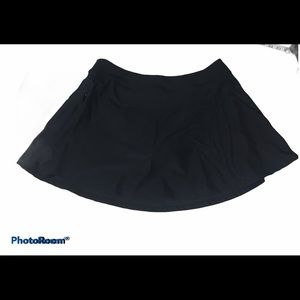 Baleaf Black Swim Skirt Bottom Sz XL